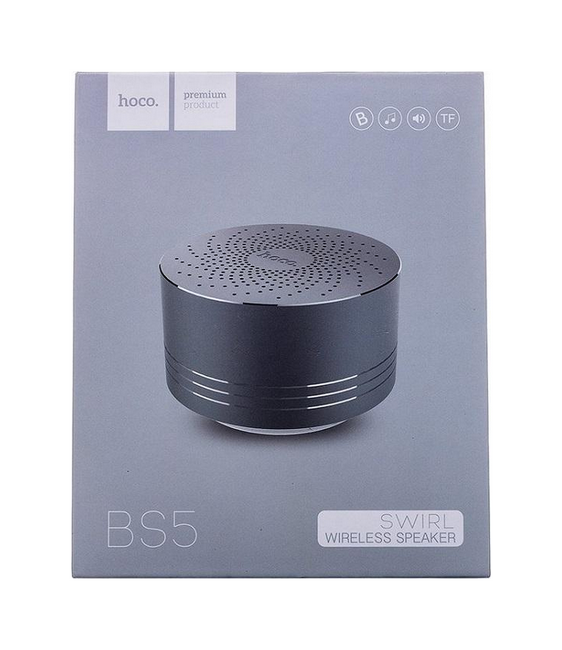 Bluetooth reproduktor HOCO BS5 stříbrný 27517