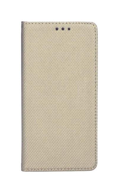 Pouzdro TopQ Nokia 8 Smart Magnet knížkové zlaté 27536 (kryt neboli obal na mobil Nokia 8)