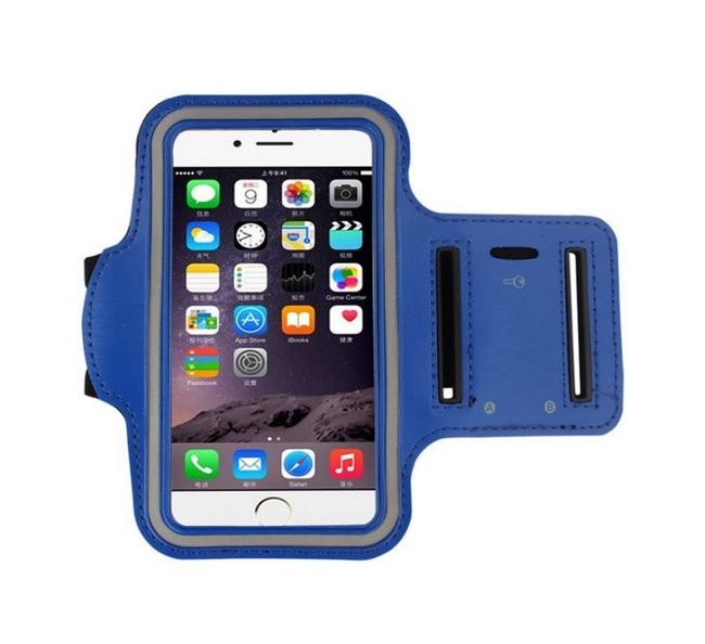 Pouzdro na ruku TopQ velikost M modré 28030 (sportovní obal velikost M)