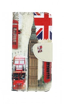 Knížkové pouzdro na Huawei P Smart Londýn