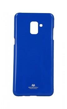 Zadní kryt Mercury Jelly Case na Samsung A8 Plus 2018 modrý