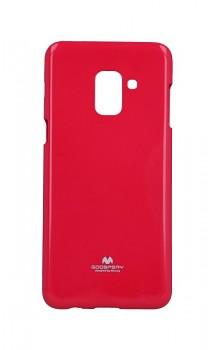 Zadní kryt Mercury Jelly Case na Samsung A8 Plus 2018 růžový