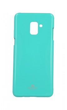 Zadní kryt Mercury Jelly Case na Samsung A8 Plus 2018 mentolový
