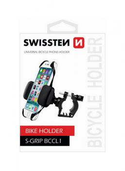 Držák na mobil na kolo Swissten S-Grip BCCL1 černý