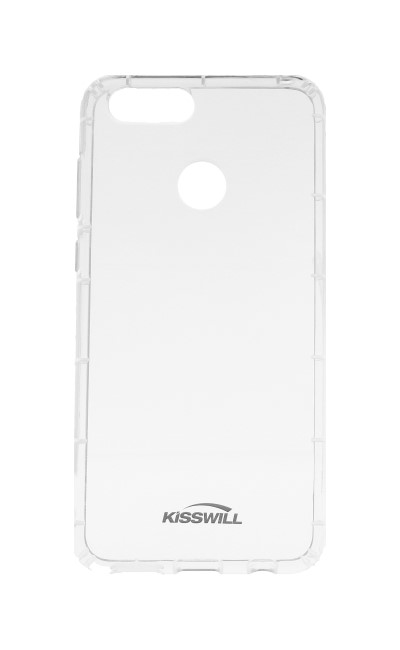 Pouzdro KISSWILL Air Around Honor 7X silikon průhledný 28366 (kryt neboli obal na Honor 7X)