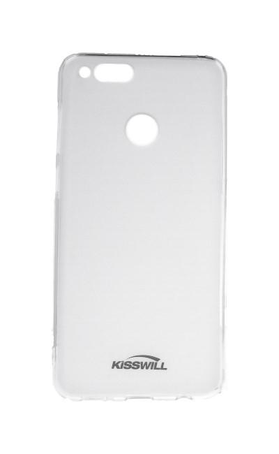 Pouzdro KISSWILL Honor 7X silikon světlý 28389 (kryt neboli obal na mobil Honor 7X)