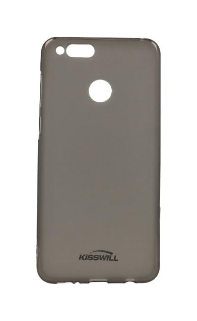 Pouzdro KISSWILL Honor 7X silikon tmavý 28390 (kryt neboli obal na mobil Honor 7X)