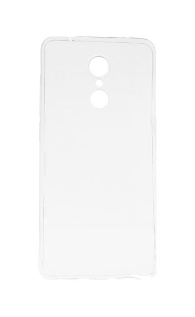 Pouzdro TopQ Xiaomi Redmi 5 silikon ultratenký průhledný 0,3 mm 28521 (kryt neboli obal na mobil Xiaomi Redmi 5)