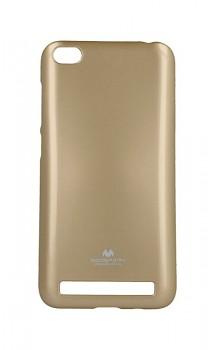 Zadní silikonový kryt Mercury Jelly Case na Xiaomi Redmi 5A zlatý