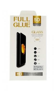 Polykarbonátová ochrana displeje FullGlue na iPhone X 5D černá