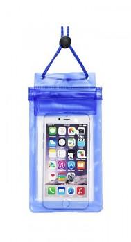 Univerzální vodotěsné pouzdro ETUI Soft na mobil modré