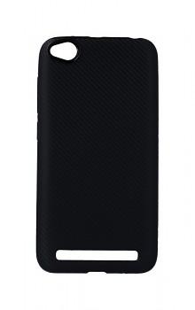 Zadní silikonový kryt na Xiaomi Redmi 5A Carbon černý