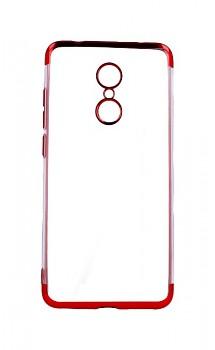 Zadní silikonový kryt na Xiaomi Redmi 5 Frame červený