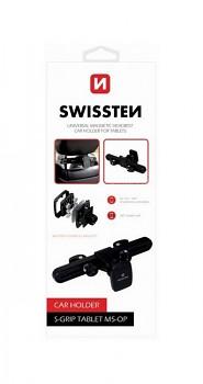 Držák do auta Swissten S-Grip Tablet M5-OP na opěrku hlavy černý