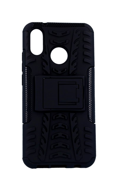 Pouzdro TopQ Huawei P20 Lite černé se stojánkem 30398 (kryt neboli obal na mobil Huawei P20 Lite)