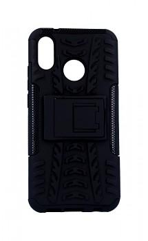Zadní kryt na Huawei P20 Lite černý se stojánkem