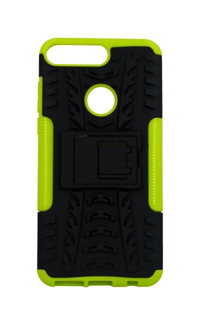 Zadní kryt na Huawei Y7 Prime 2018 zelený se stojánkem