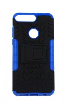 Zadní kryt na Huawei Y7 Prime 2018 modrý se stojánkem