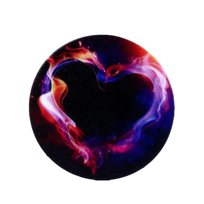 Držák na mobil TopQ PopSockets Heart 30885