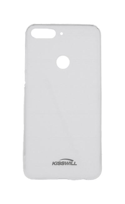 Pouzdro KISSWILL Honor 7C silikon světlý 31640 (kryt neboli obal na mobil Honor 7C)