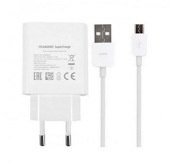 Originální rychlonabíječka Huawei HW-050450E00 + micro USB datový kabel 4.5A bílá