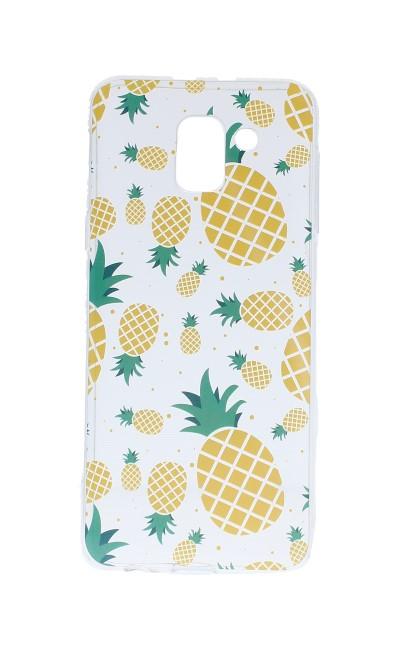 Pouzdro Forcell Samsung J6 silikon Summer Pineapple 31992 (kryt neboli obal na mobil Samsung J6)