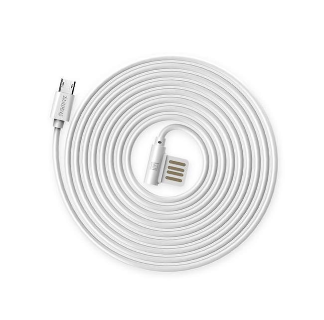 Datový kabel Remax Rayen microUSB 1m bílý 32230