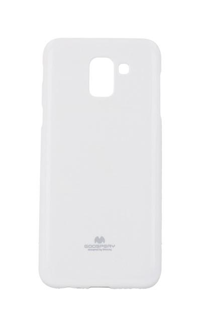 Zadní kryt Mercury Jelly Case na Samsung J6 bílý
