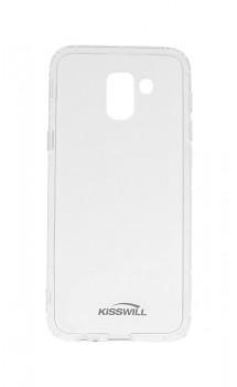 Zadní silikonový kryt KISSWILL Air Around na Samsung J6 průhledný