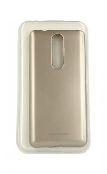 Zadní silikonový kryt Molan Cano Jelly na Nokia 5.1 zlatý