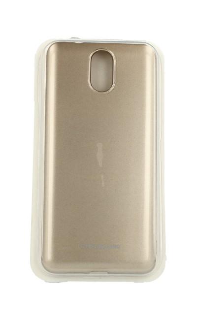 Pouzdro Molan Cano Jelly Nokia 3.1 silikon zlatý 32979 (kryt neboli obal na mobil Nokia 3.1)