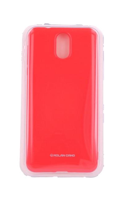 Pouzdro Molan Cano Jelly Nokia 3.1 silikon růžový 32989 (kryt neboli obal na mobil Nokia 3.1)