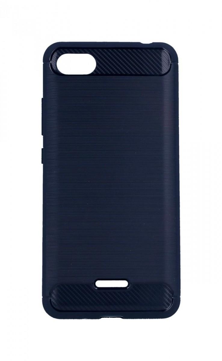 Pouzdro TopQ Xiaomi Redmi 6A silikon modrý 33086 (kryt neboli obal na mobil Xiaomi Redmi 6A)