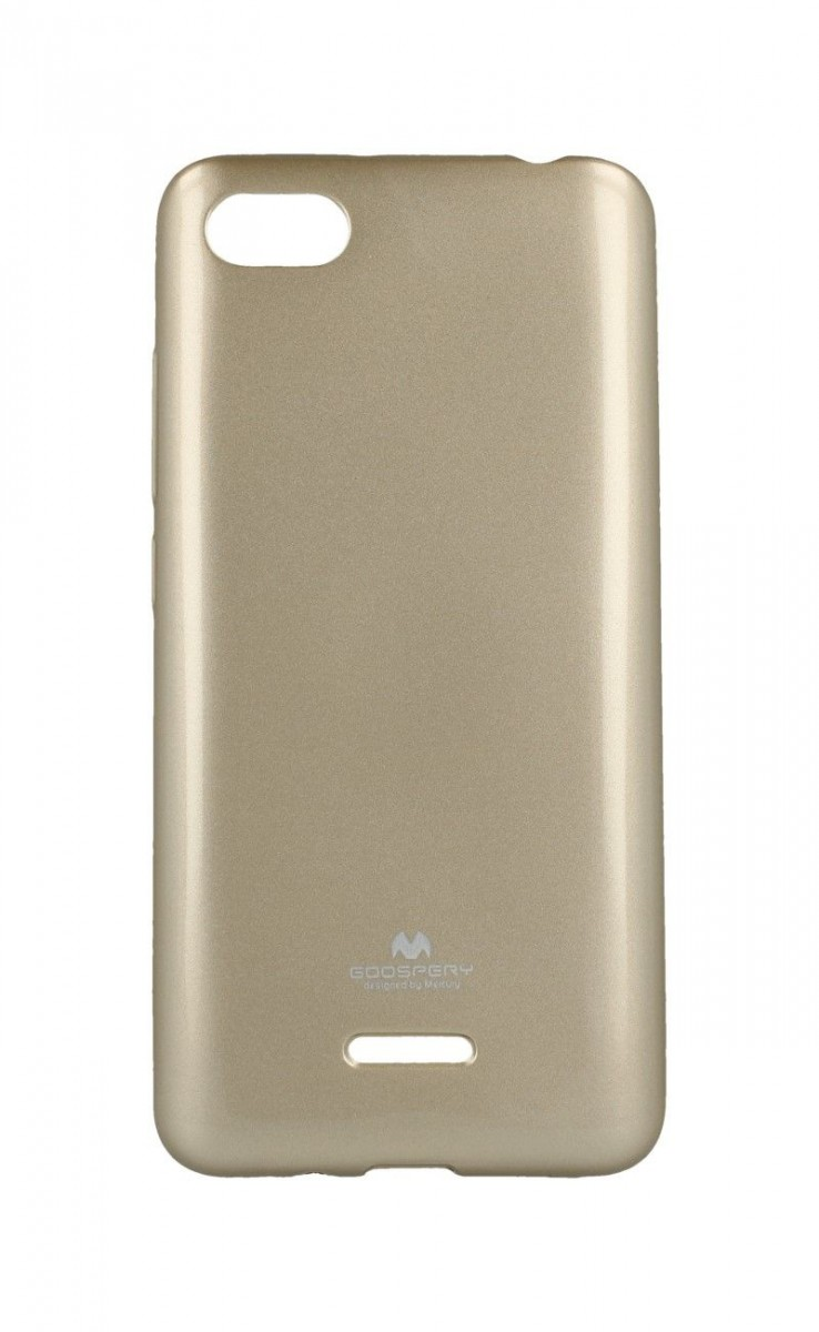 Pouzdro Mercury Xiaomi Redmi 6A silikon zlatý 33247 (kryt neboli obal na mobil Xiaomi Redmi 6A)