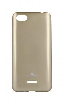 Zadní silikonový kryt Mercury Jelly Case na Xiaomi Redmi 6A zlatý