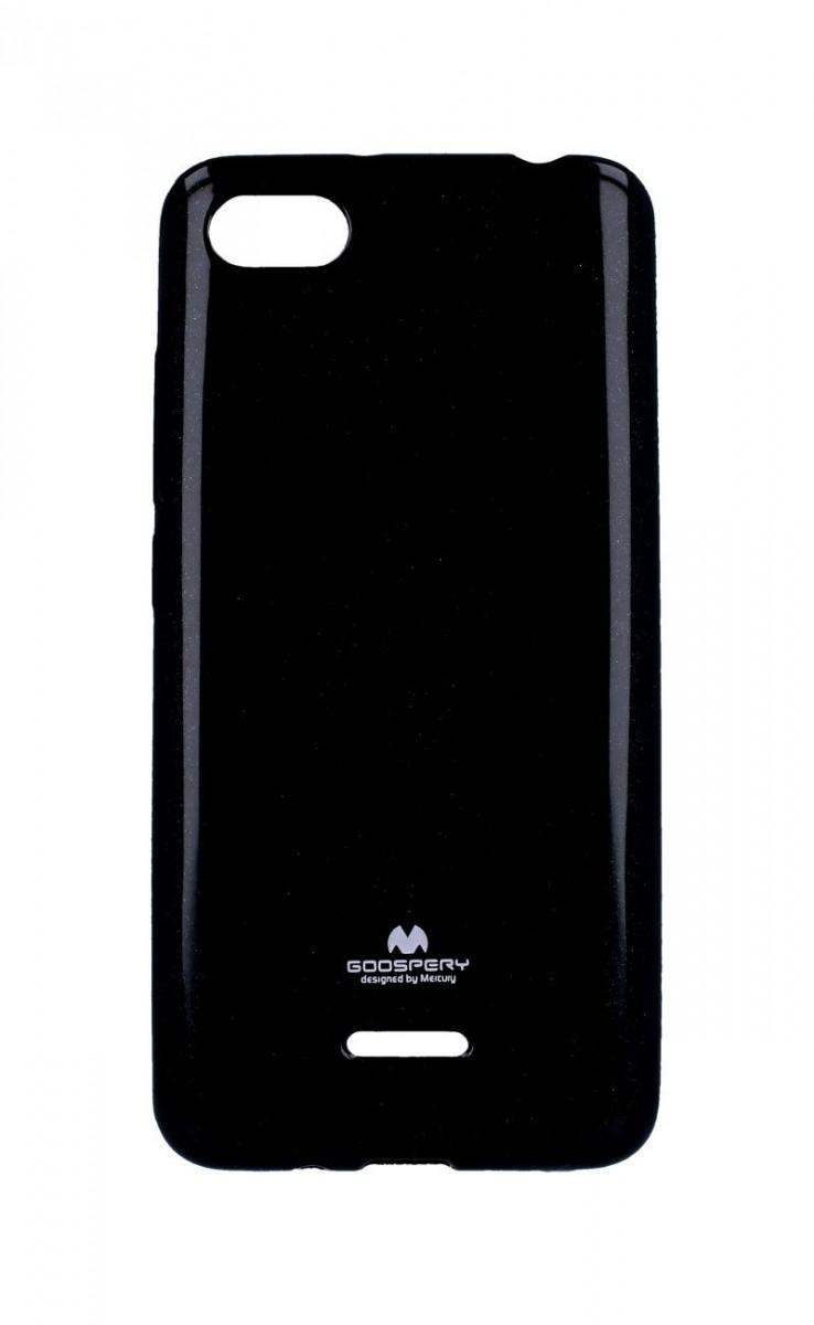 Pouzdro Mercury Xiaomi Redmi 6A silikon černý 33251 (kryt neboli obal na mobil Xiaomi Redmi 6A)