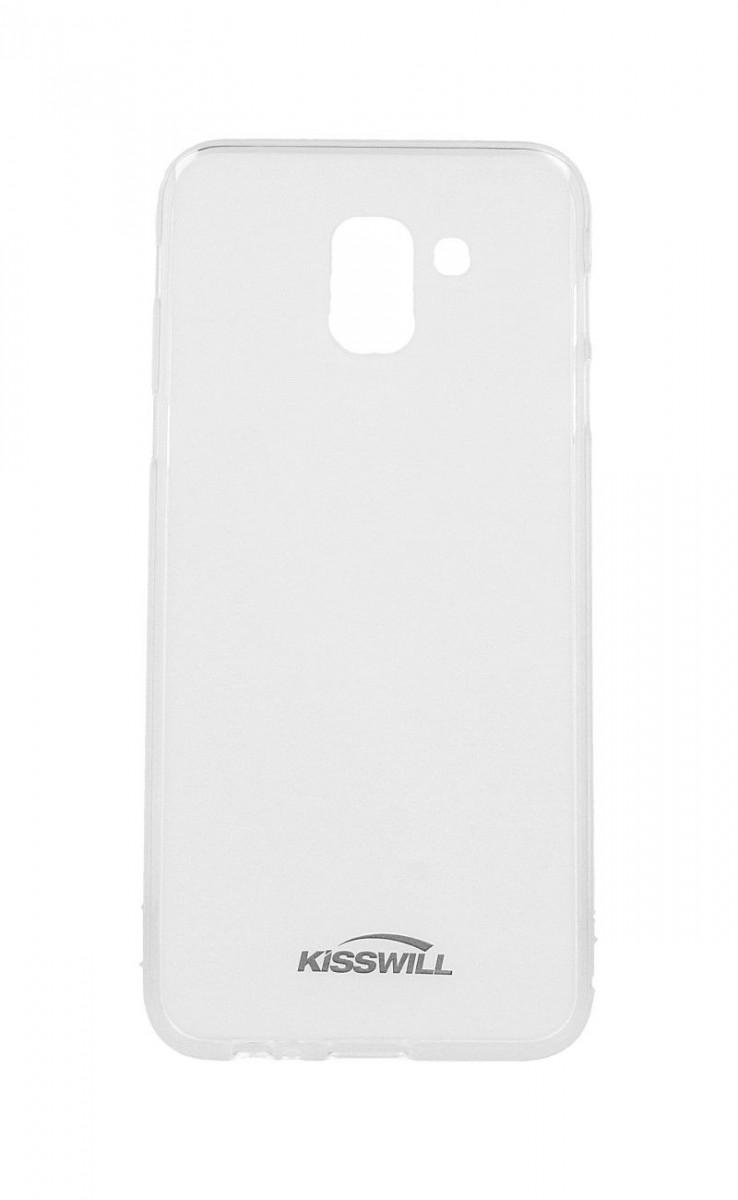 Pouzdro KISSWILL Samsung J6 silikon světlý 33322 (kryt neboli obal na mobil Samsung J6 J600F)