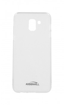 Zadní silikonový kryt KISSWILL na Samsung J6 světlý