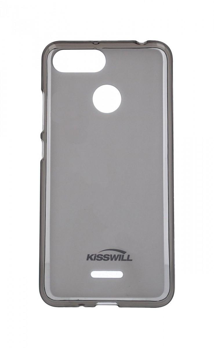 Pouzdro KISSWILL Xiaomi Redmi 6A silikon tmavý 33333 (kryt neboli obal na Xiaomi Redmi 6A)