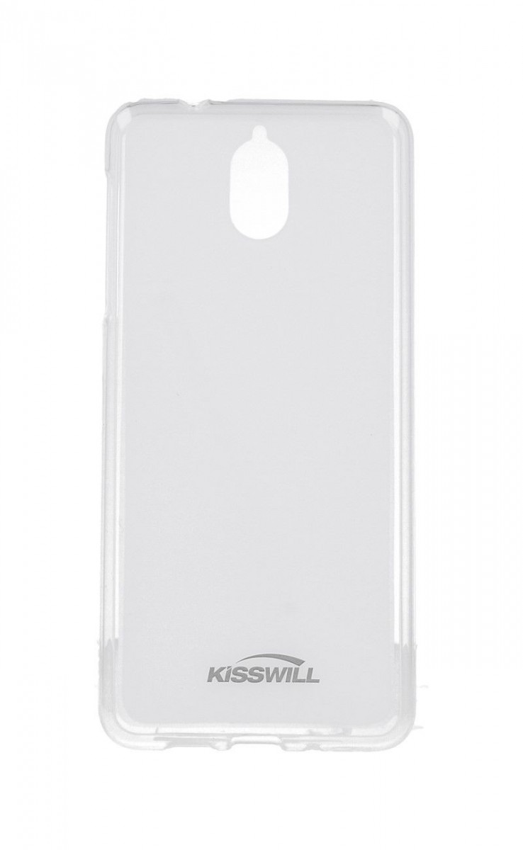 Pouzdro KISSWILL Nokia 3.1 silikon světlý 33335 (kryt neboli obal na mobil Nokia 3.1)