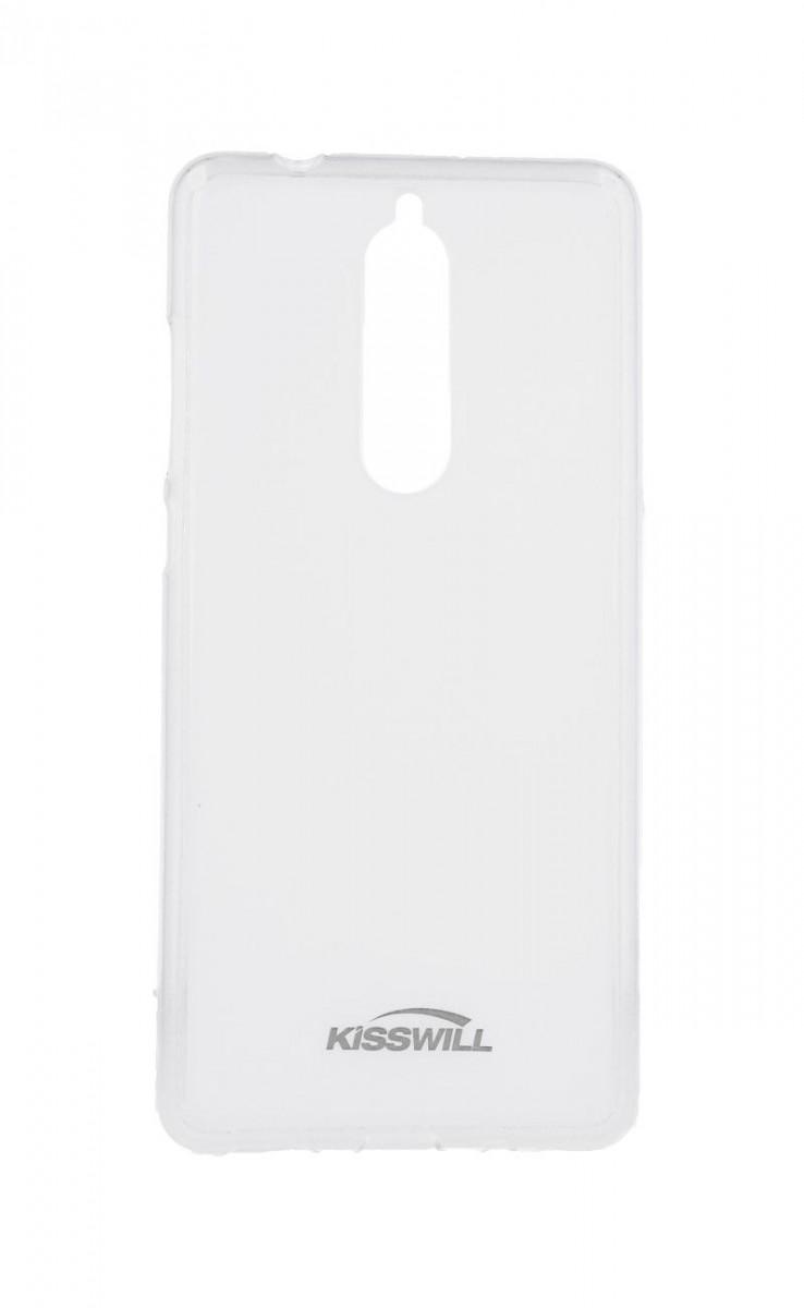Pouzdro KISSWILL Nokia 5.1 silikon světlý 33342 (kryt neboli obal na mobil Nokia 5.1)