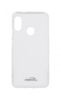 Zadní silikonový kryt KISSWILL na Xiaomi Mi A2 Lite světlý