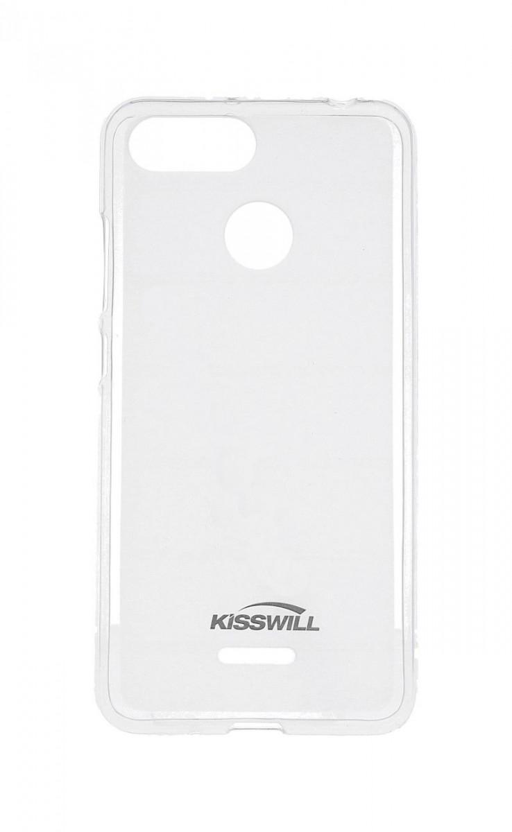 Pouzdro KISSWILL Xiaomi Redmi 6A silikon světlý 33350 (kryt neboli obal na Xiaomi Redmi 6A)