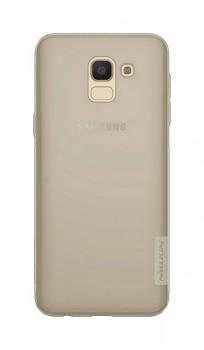 Ultratenký zadní kryt Nillkin na Samsung J6 tmavý