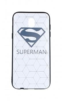 Zadní 3D silikonový kryt na Samsung J5 2017 bílý Superman