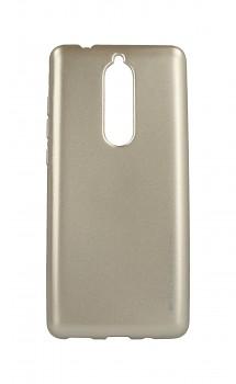 Zadní kryt Mercury iJelly Metal na Nokia 5.1 zlatý