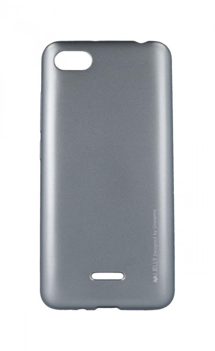 Pouzdro Mercury iJelly Xiaomi Redmi 6A silikon šedý 33558 (kryt neboli obal na Xiaomi Redmi 6A)
