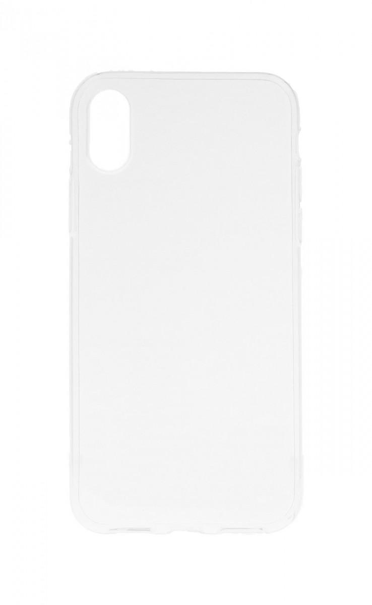 Pouzdro TopQ iPhone XS silikon průhledný ultratenký 0,5 mm 33573 (kryt neboli obal na mobil iPhone XS)