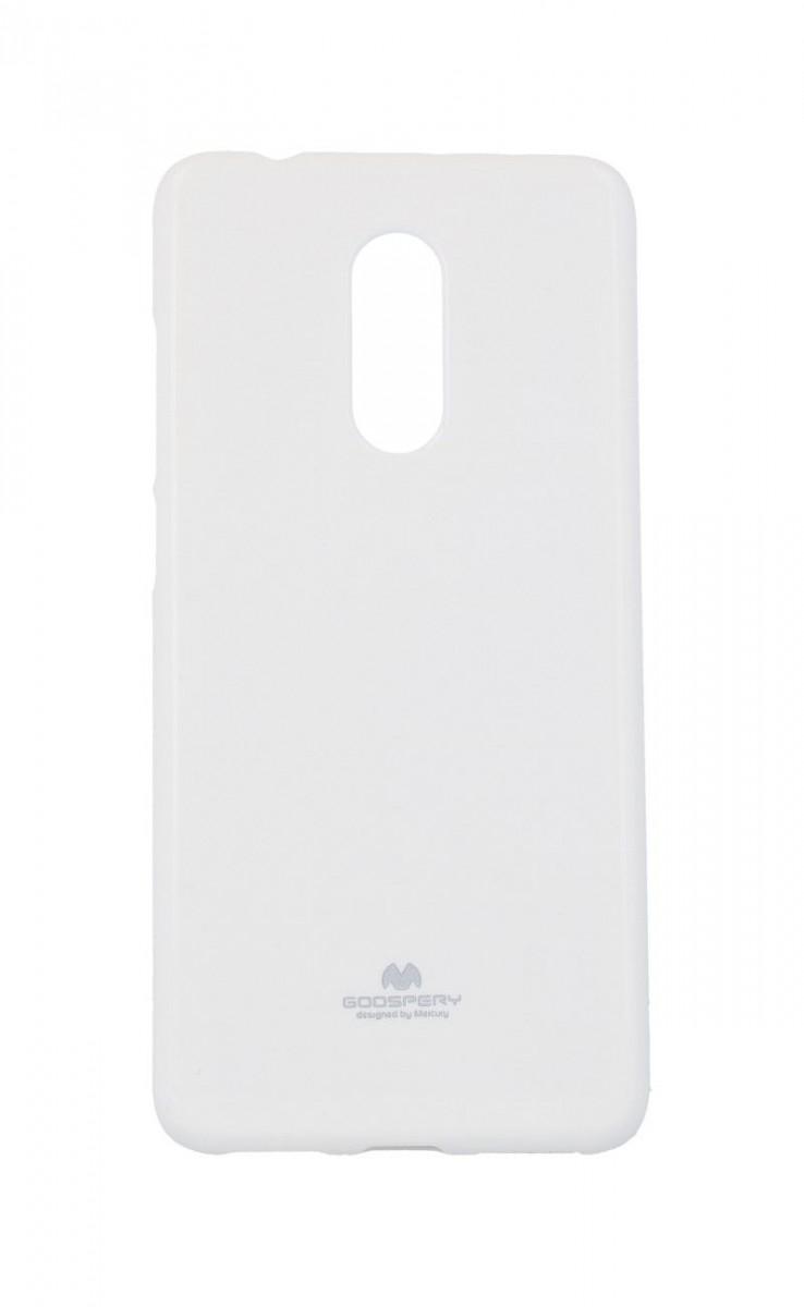 Pouzdro Mercury Xiaomi Redmi 5 silikon bílý 33605 (kryt neboli obal na mobil Xiaomi Redmi 5)