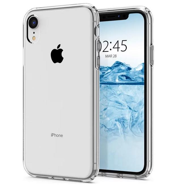 Pouzdro TopQ iPhone XR silikon průhledný ultratenký 0,5 mm 33641 (kryt neboli obal na mobil iPhone XR)